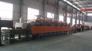 Continuous Mesh-Belt Conveyor and Gas Controlled Heat-Treatment Furnace pictures & photos