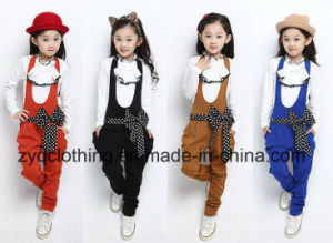 Girl′s Autumn Suit, Girl′s Suit with Strap pictures & photos