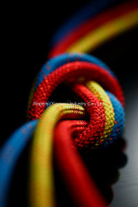 6mm Zebra (R006) Hmpe Rope for Dinghy-Main Halyard/Sheet-Jib/Genoa Halyard-Control Line pictures & photos