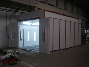 German Spray Booth Inflatable Paint Booth pictures & photos