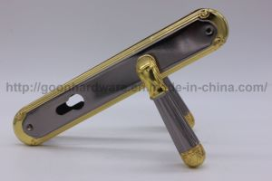 Aluminum Handle on Iron Plate 068 pictures & photos