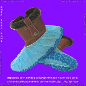Disposable Anti-Skid Shoe Cover pictures & photos