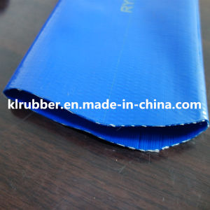 PVC Lay Flat Irrigation Discharge Hose pictures & photos