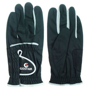 Black Synthetic Leather Golf Glove (PGL-45) pictures & photos