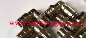 Pneumatic Push in Brass Fitting with Swivel System pictures & photos