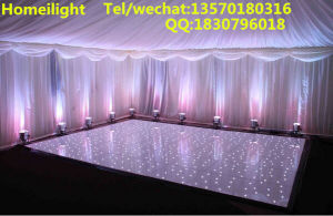 2*2FT White and Black Acrylic LED Star Dance Floor for Nightclub pictures & photos