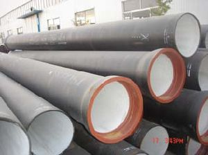 ISO2531 Ductile Cast Iron Pipe for Water Supply pictures & photos