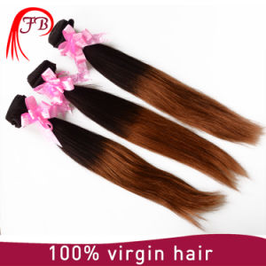100 Human Hair Brazilian Hair Weave Ombre Keratin Hair Extensions pictures & photos