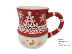 Ceramic Christmas Cup (D33-05214)
