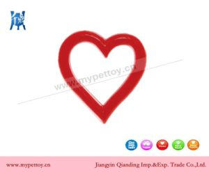 Rubber Heart Shaped Dog Toy pictures & photos