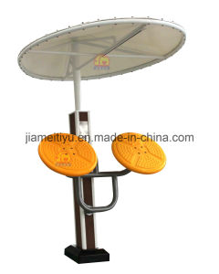 Outdoor Fitness Equipment WPC Series Shoulder Trainer / Taiji Wheel pictures & photos