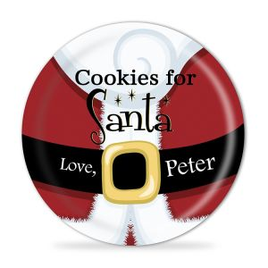Cookies for Santa Personalized Christmas Melamine Plate Dinnerware pictures & photos