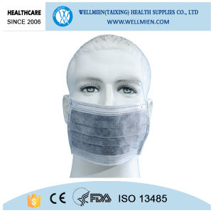 Black Carbon Mask Workplace Safety Medical Face Mask Black pictures & photos