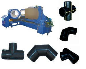 HDPE Pipe Fitting Making Machine pictures & photos