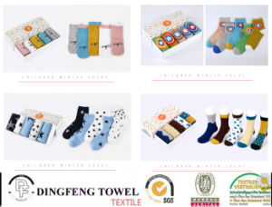 New Fashionable Knitted Children Socks Df-8838 pictures & photos