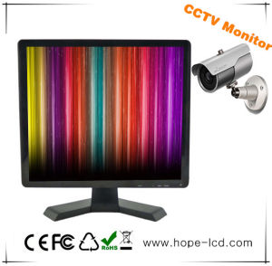 "TFT LCD CCTV 17"" Security Monitor with BNC HDMI VGA Input pictures & photos"