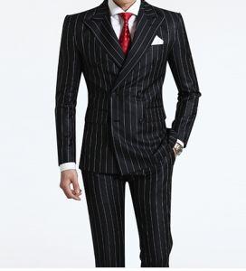 New Style Men′s Business Fashion Black Suit pictures & photos