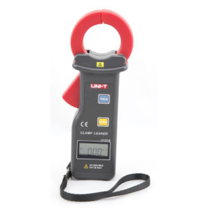 10000 Display Count High Sensitivity AC/DC Earth Leakage Current Clamp Meter Ut251b with RS-232 Interface
