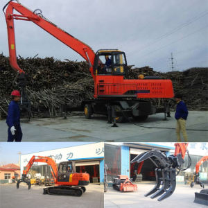 Fotma Brand Hydraulic Grapple Crane, Log Grapple pictures & photos