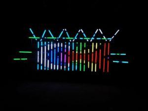 2015 DC24V Konelite LED Shooting Star Disco LED RGB 3D DMX Tube, LED Vertical Tube Pn-700-30