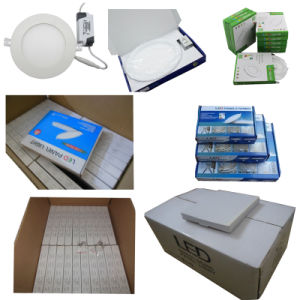 6W 9W 12W 18W Slim LED Panel Round pictures & photos
