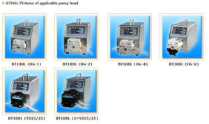 Bt100L Intelligent Flow Small 12V Peristaltic Pump pictures & photos