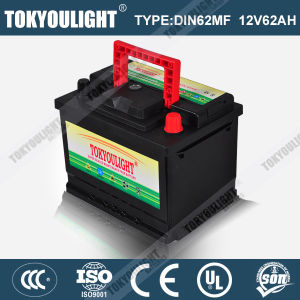 Super Maintenance Free Auto Battery with Long Life Time Service DIN55mf 12V55ah