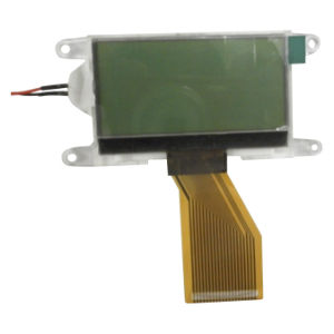 Stn Yellow-Green128 X 64 Dots Tansmissive Positive LCD Display Module with Green Backlight (VTM88858H)