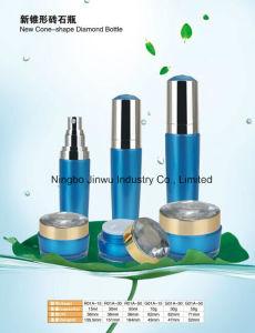 New Cone-Shape Diamond Botte 15ml 30ml 50ml Acrylic Bottle Plastic Bottle