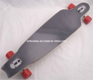 "40X10"" Long Board Et-Lb009 8 Ply Maple Wood Drop Down Drop Throu Long Skateboard pictures & photos"