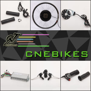 Cheap 26′′ 48V 1000W Brushless Gearless Electric Bicycle Kits pictures & photos