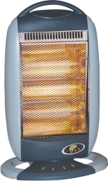 Halogen Heater with GS/CE/CB, 4 Halogen Heating Tube, Portable Heater