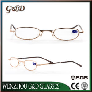 Popular Design Metal Reading Glasses with Case Cj8828 pictures & photos
