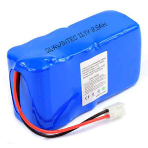 Li-ion 18650 11.1V 8800mAh Rechargeable Battery Pack pictures & photos
