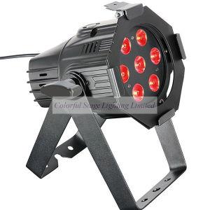 Stage Lighting 7X10W RGBW 4in1 Quad-Color LED PAR
