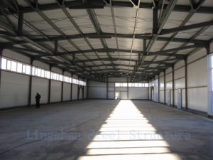 SGS Approved Lingshan Modern Light Steel Structure Workshop (L-S-002) pictures & photos