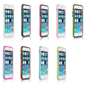 TPU Bumper Frame Cover Case for iPhone 5s pictures & photos