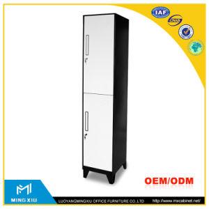 China Mingxiu Steel Lockers / 2 Door Clothing Steel Locker pictures & photos