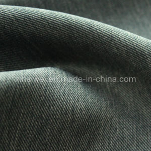 100% Poly Two-Tone Denim Fabric for Garment pictures & photos