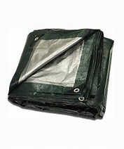 All Weather Waterproof Poly Tarp for Camping pictures & photos