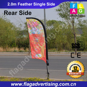 Outdoor Advertising High Quality Flying Feather Flag pictures & photos
