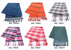 New Design Men′s Fashion Viscose Scarf (08025-08030) pictures & photos