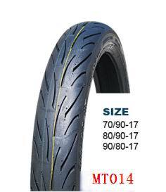 Hot Sales Motorcycle Tyre (70/90-17 80/90-17 90/80-17)