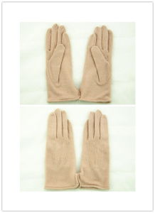 Lady Fashion Wool Gloves (JYG-25035) pictures & photos