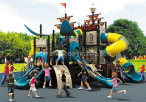 2014 Hot Sale Children Outdoor Playground Equipment with CE Approved (YQL-0050027)