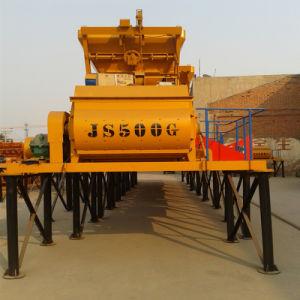 Popular Construction Equipment/ Concrete Machine Js500 Ready Mix Concrete Mixer pictures & photos