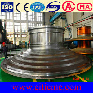 Grinding Mill Part Casting Steel End Cover pictures & photos