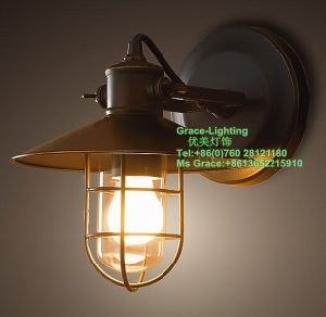 Decoration Yard Wall Lamp (GB-0107-1) pictures & photos