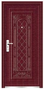 Top Quality Economic Single Steel Doors (EF-S021) pictures & photos