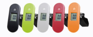 Black Green White Red ABS Plastic Digital Luggage Scale (XF8602) pictures & photos